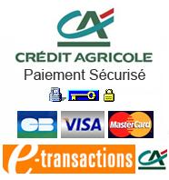 paiement sécurisé par la banque crédit agricole