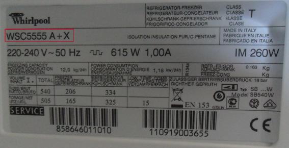 piece electromenager refrigerateur